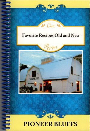 front cover of favorite recipes cookbook